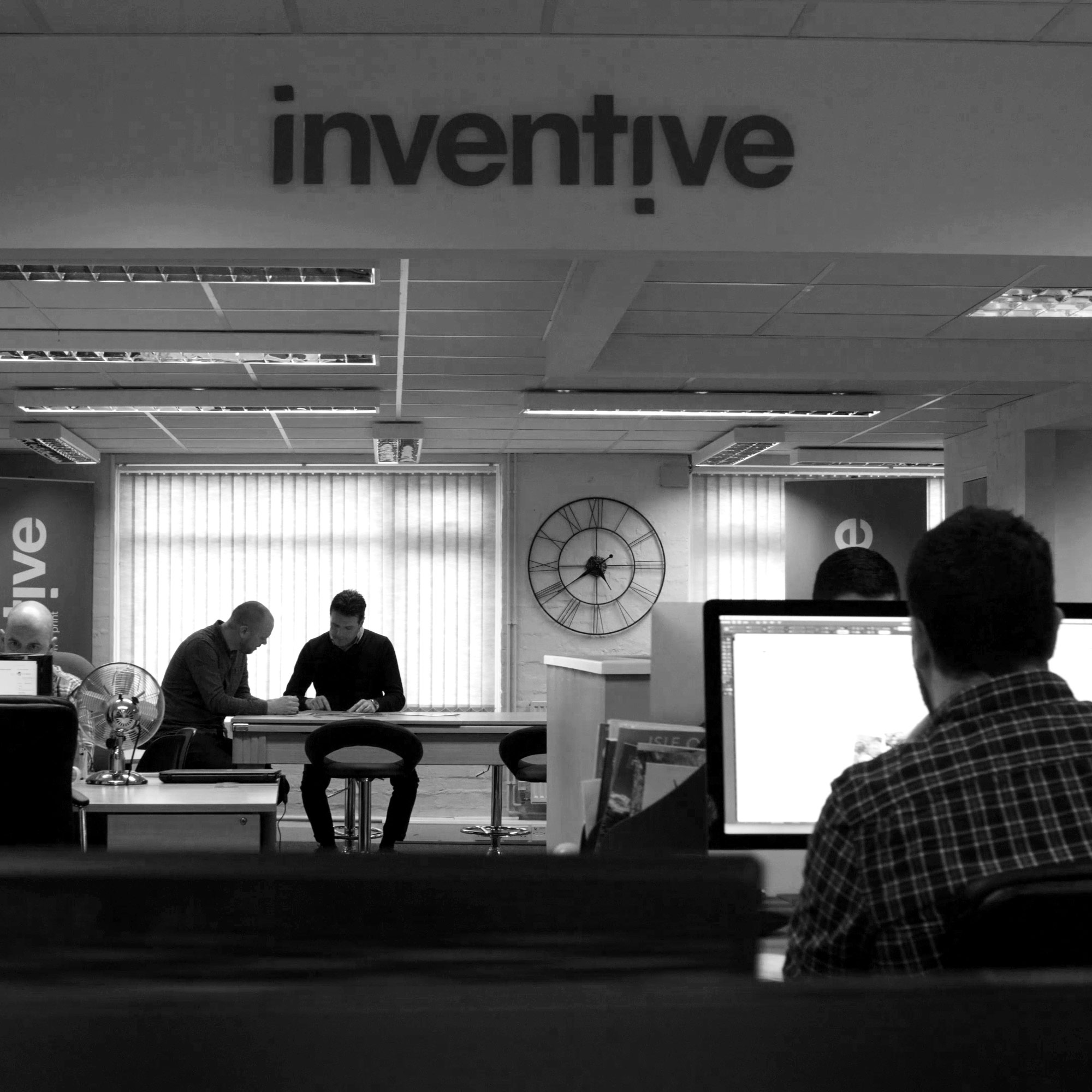 The Inventive Design office of Web Developers, Graphic Designers and Digital Marketers
