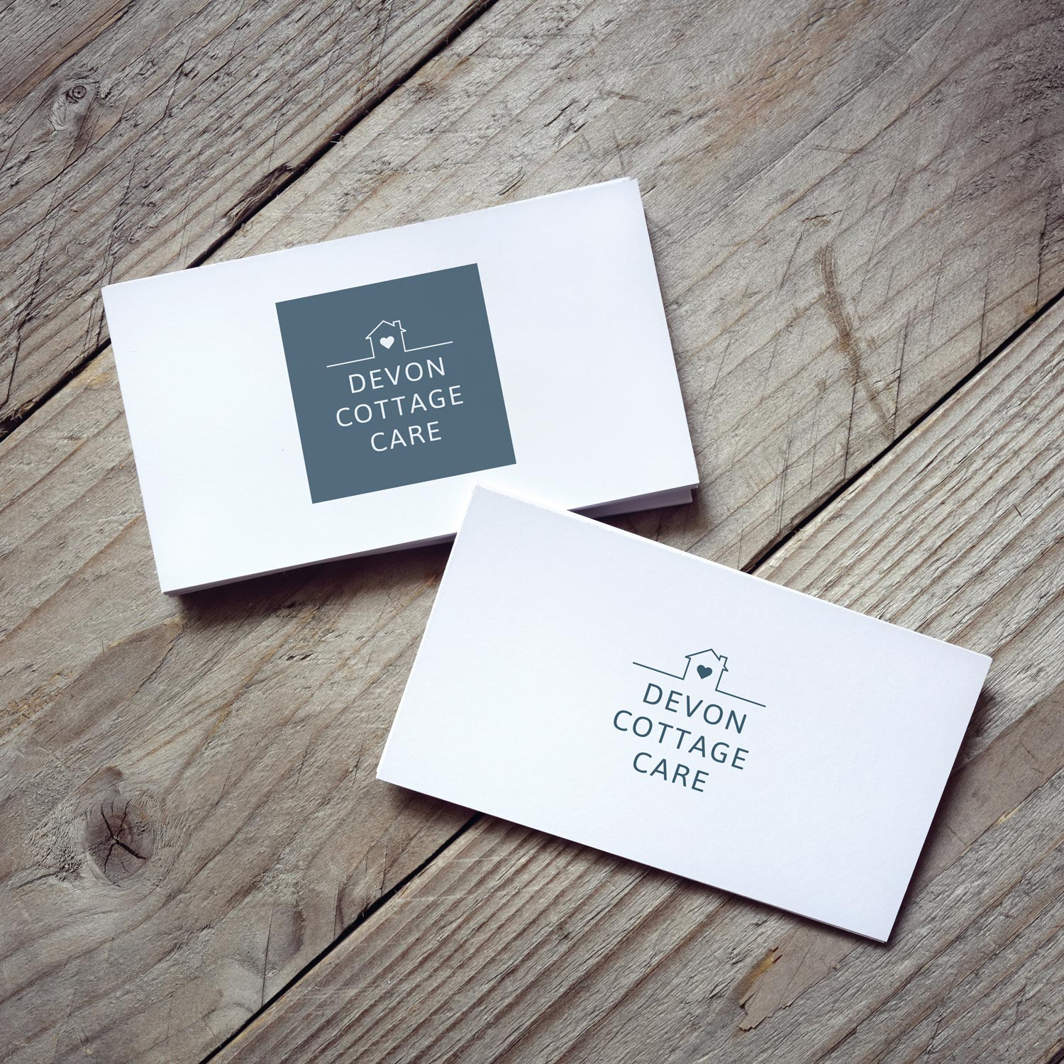 Logo and Branding Design and Evolution on business cards at Inventive