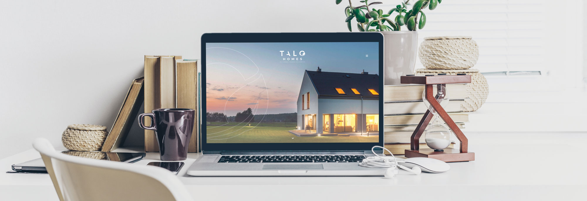 TALO Homes Website Development by Inventive