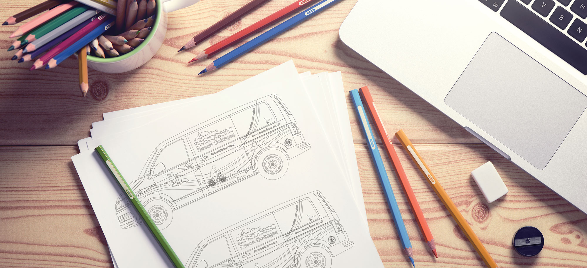 Marsdens Van Colouring In Naming Competition