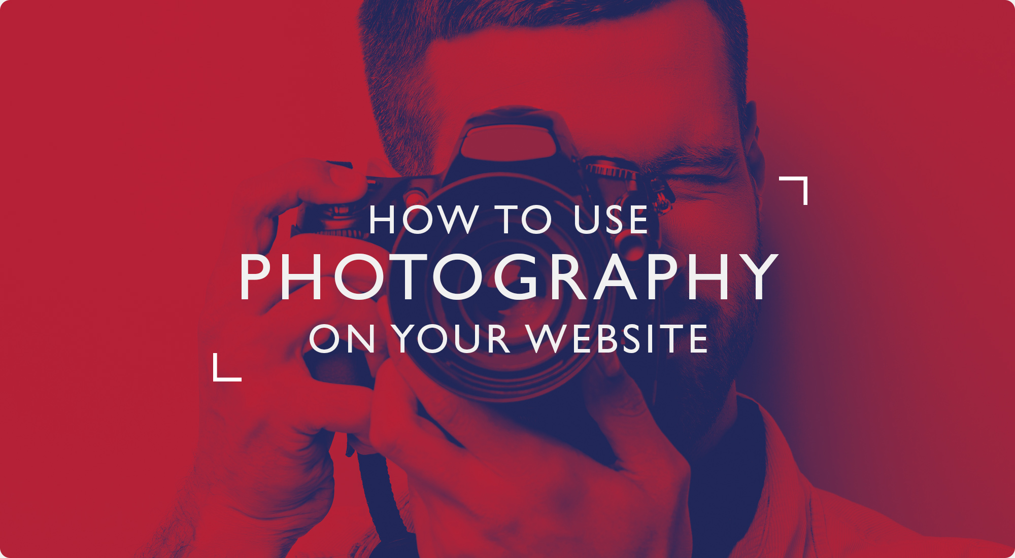 How to use photography on your website