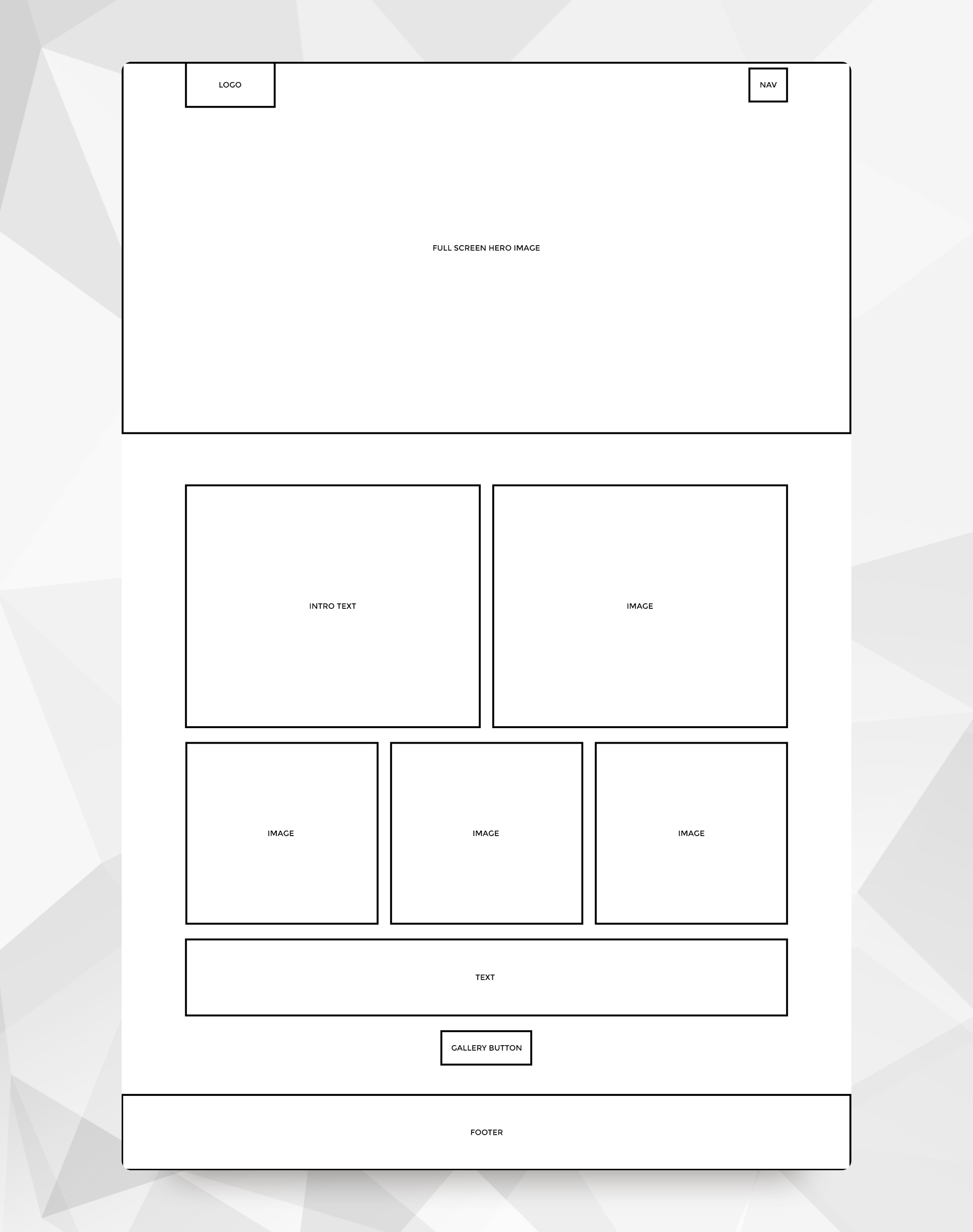 Inventive Basic Wireframe Example