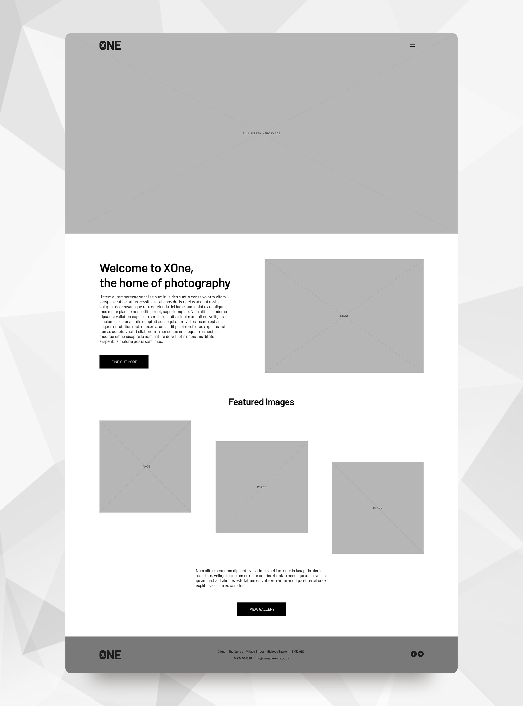 Inventive High Definition HiDef Wireframe Example