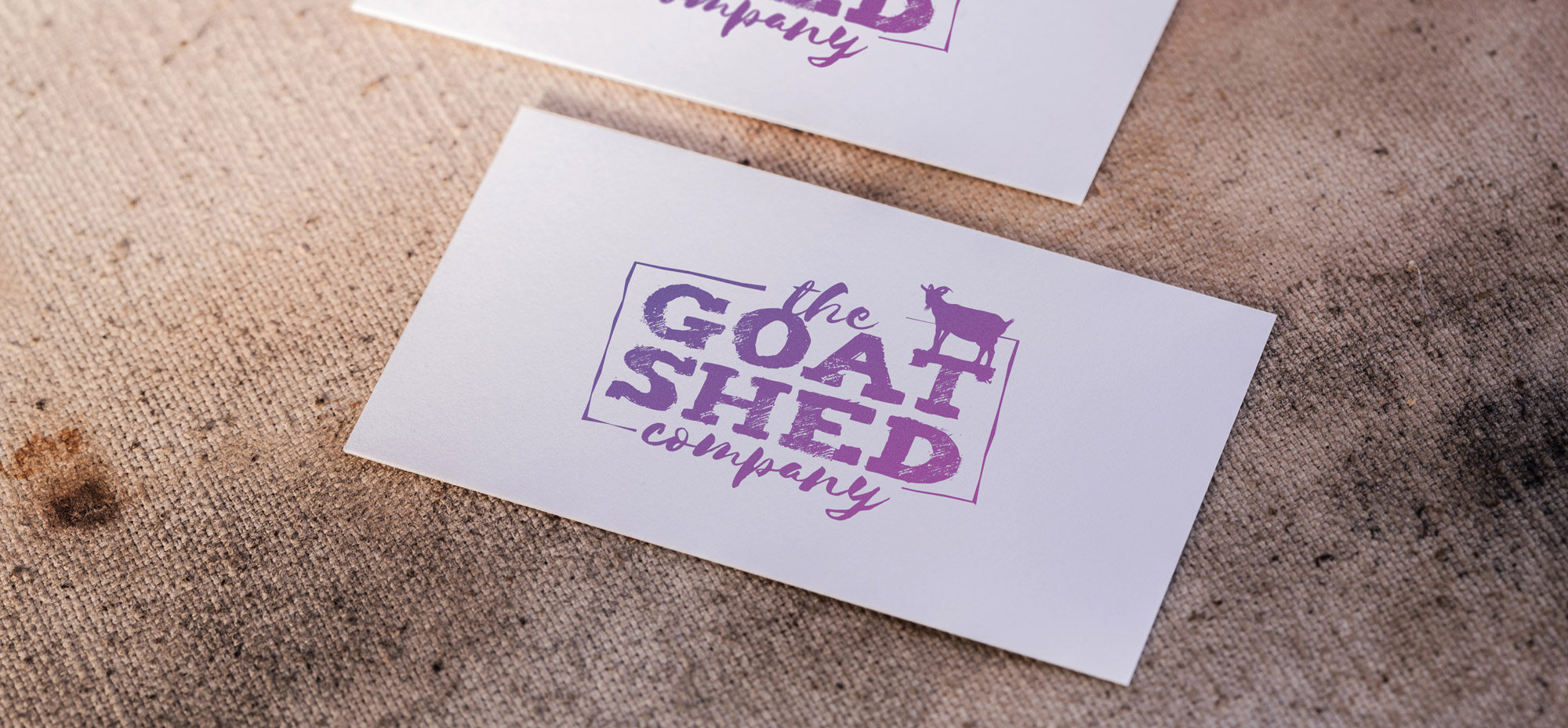 The Goat Shed Company Bespoke Logo Design
