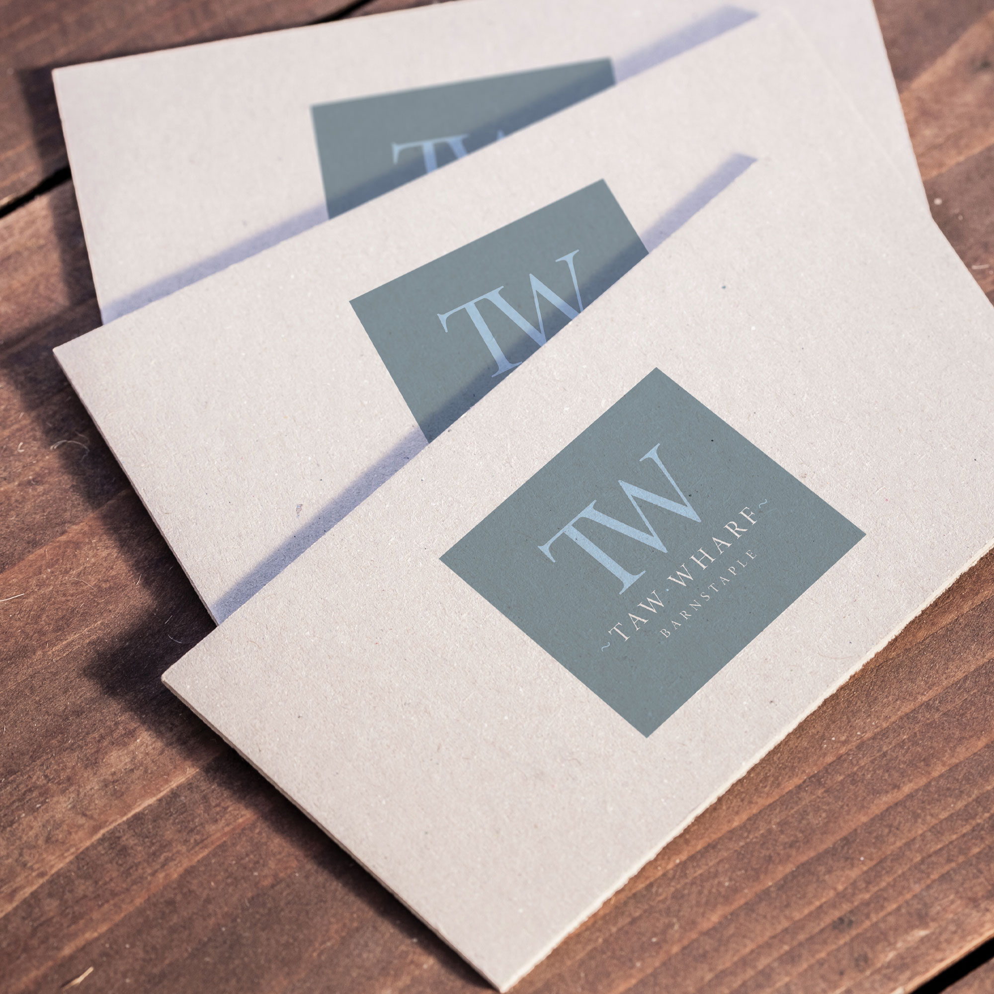 Taw Wharf Barnstaple Housing Development Branding