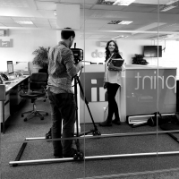 Promotional video shoot at Inventive Design in Barnstaple North Devon
