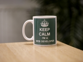 Keep Calm I'm a Web Developer