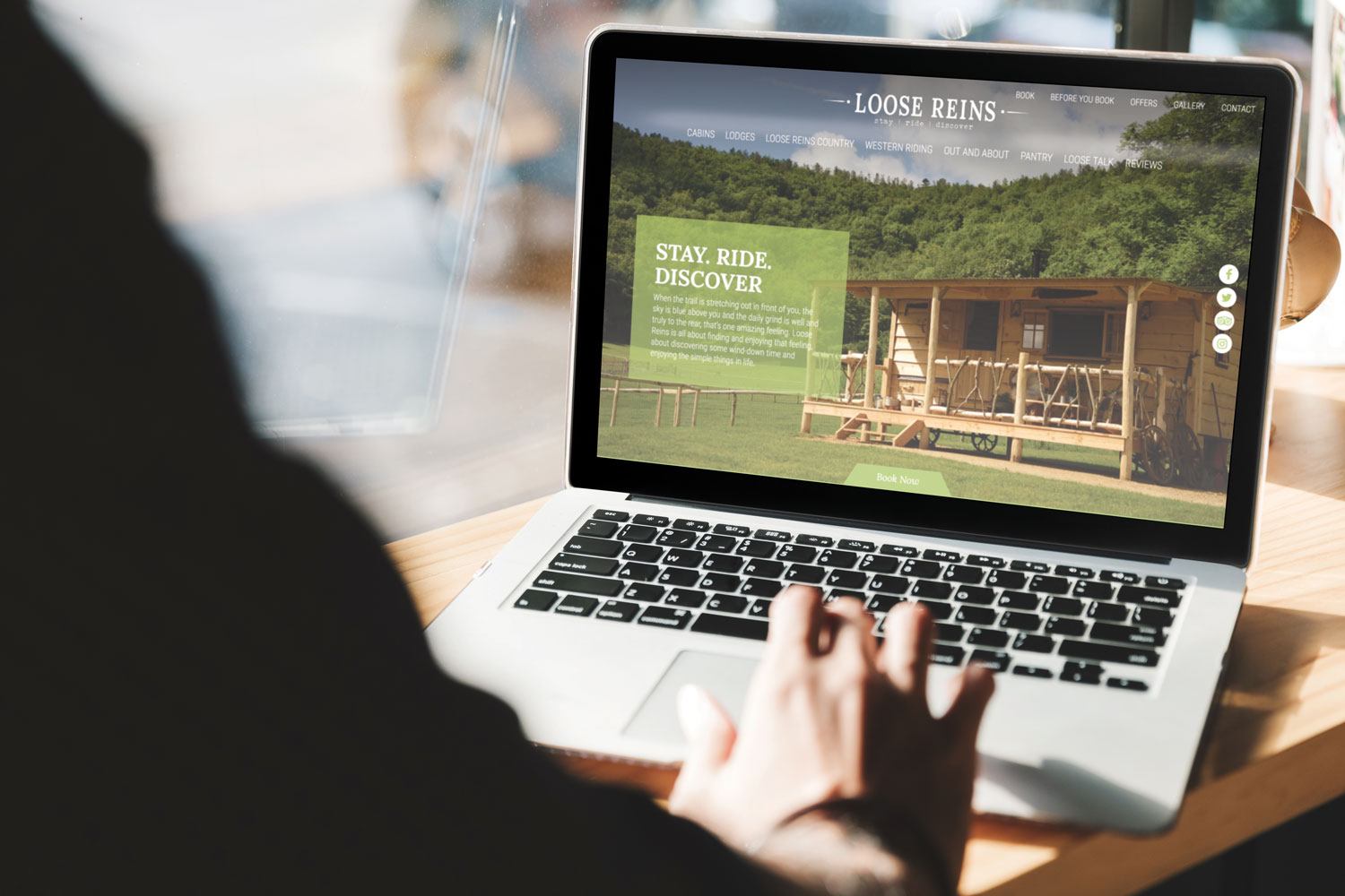 Loose Reins Drupal Glamping Website