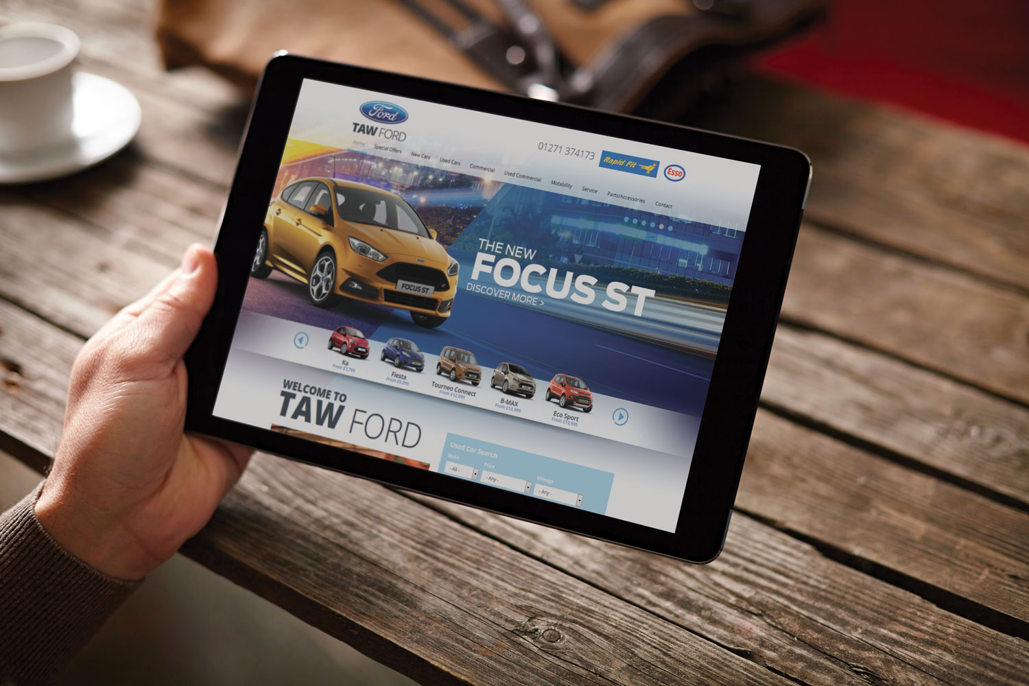 Taw Ford Drupal Car Dealership Website
