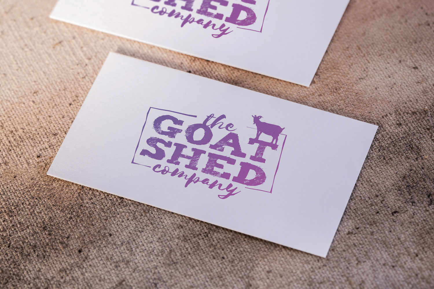 The Goat Shed Company Logo Design